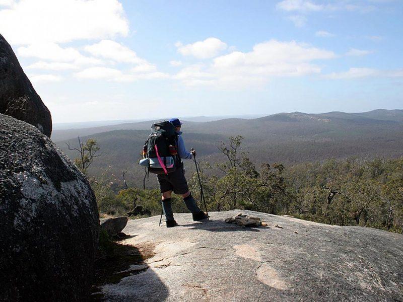 View from Mount Cuthbert