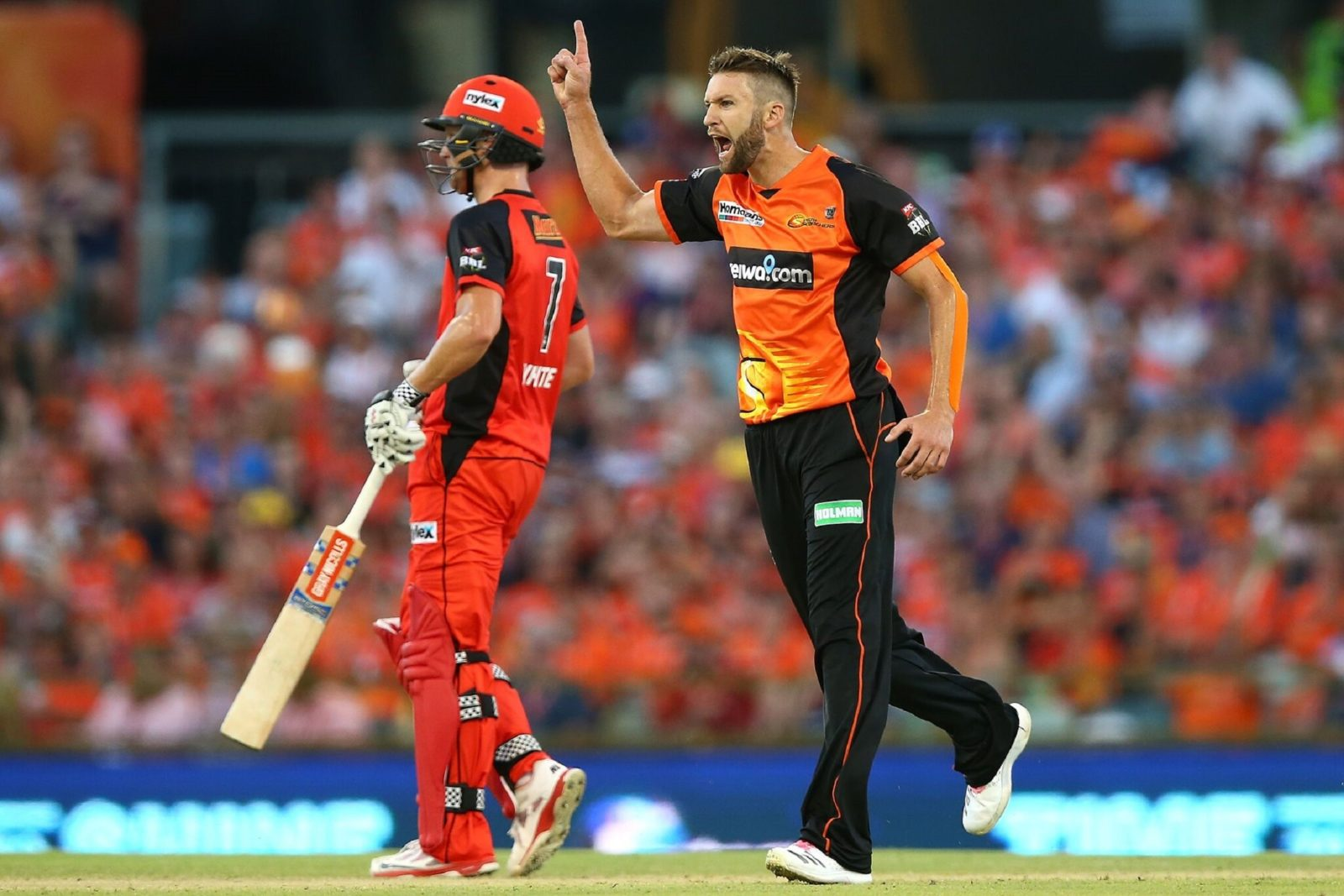 Big Bash League - Perth Scorchers vs Melbourne Renegades, Burswood, Western Australia