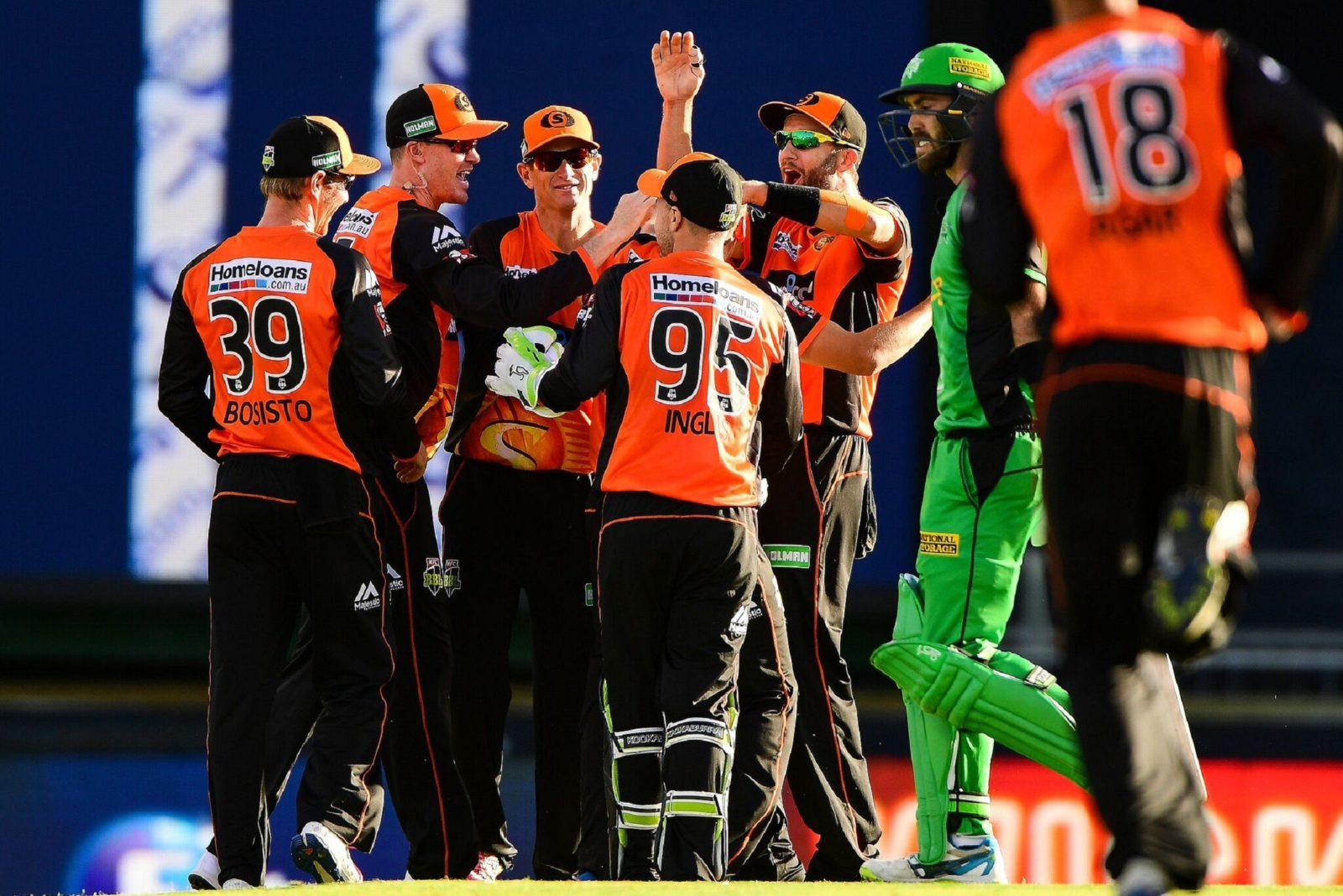 Big Bash League - Perth Scorchers vs Melbourne Stars, Burswood, Western Australia