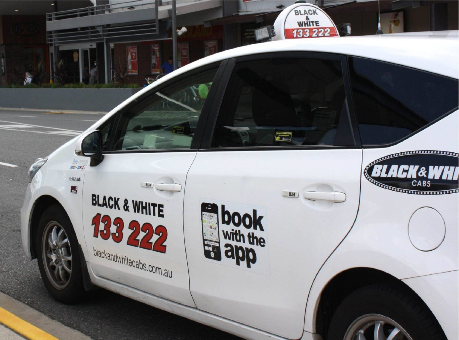Black & White Cabs, Perth, Western Australia