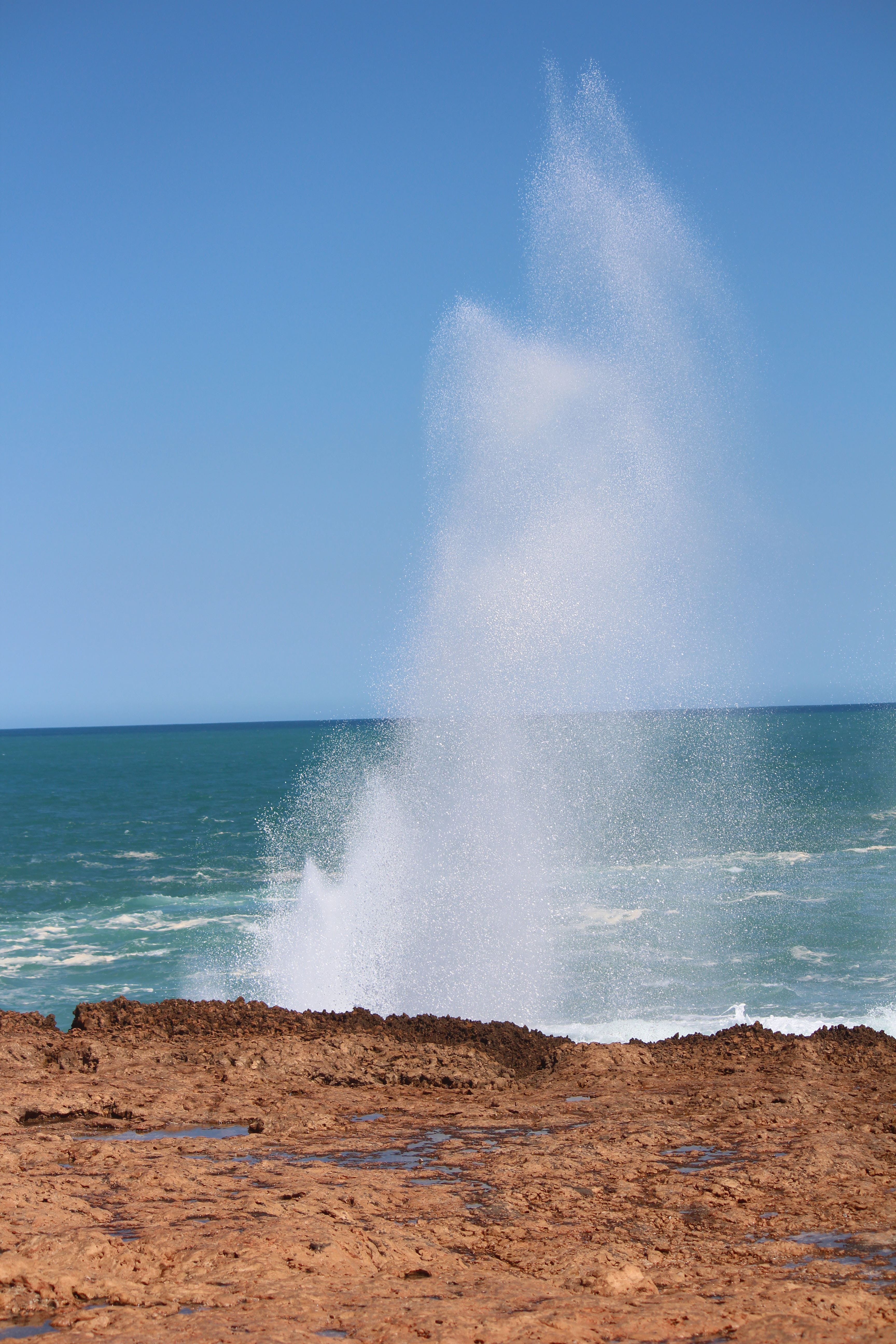 Blowholes and Point Quobba, Carnarvon, Western Australia