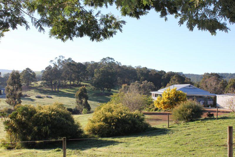 Blue House, Nannup, Western Australia