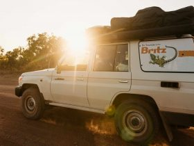 Britz Campervans and 4WD, Broome, Western Australia