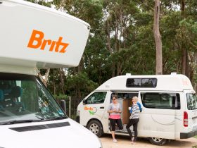Britz Campervan, Four Wheel Drive and Car Rentals, Redcliffe, Western Australia