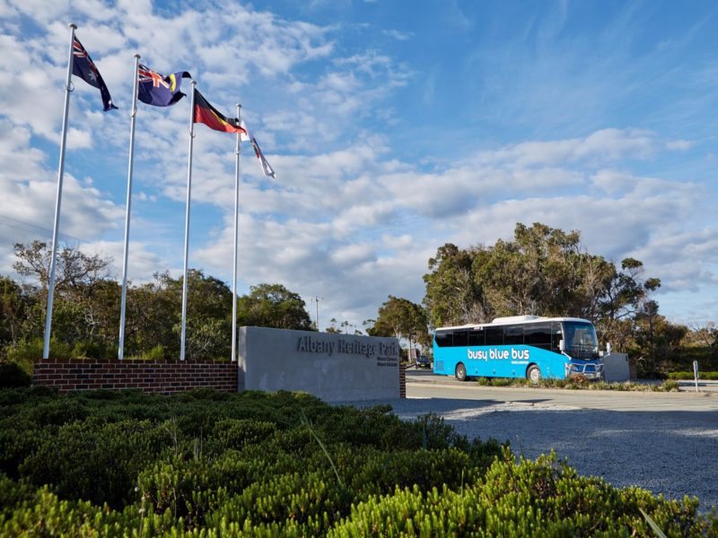 Busy Blue Bus Tours and Charters, Albany, Western Australia