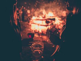 Huge bonfires, brews and good times