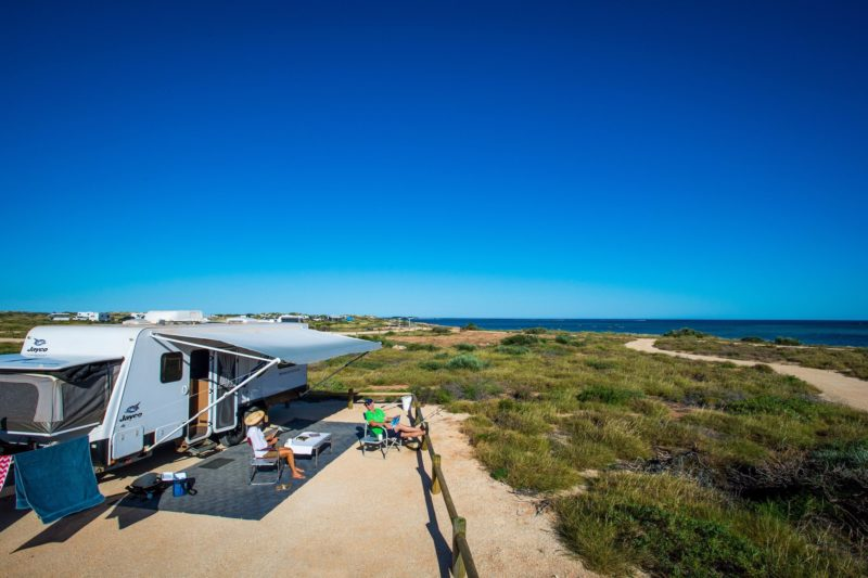 Osprey campground, Cape Range National Park, Exmouth, Western Australia
