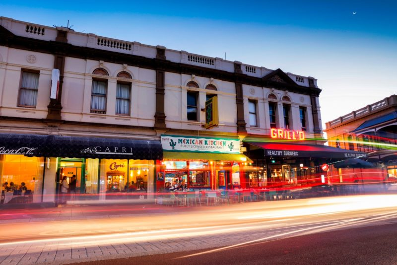 Cappucino Strip, Fremantle, Western Australia