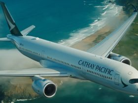 Cathay Pacific, Perth, Western Australia