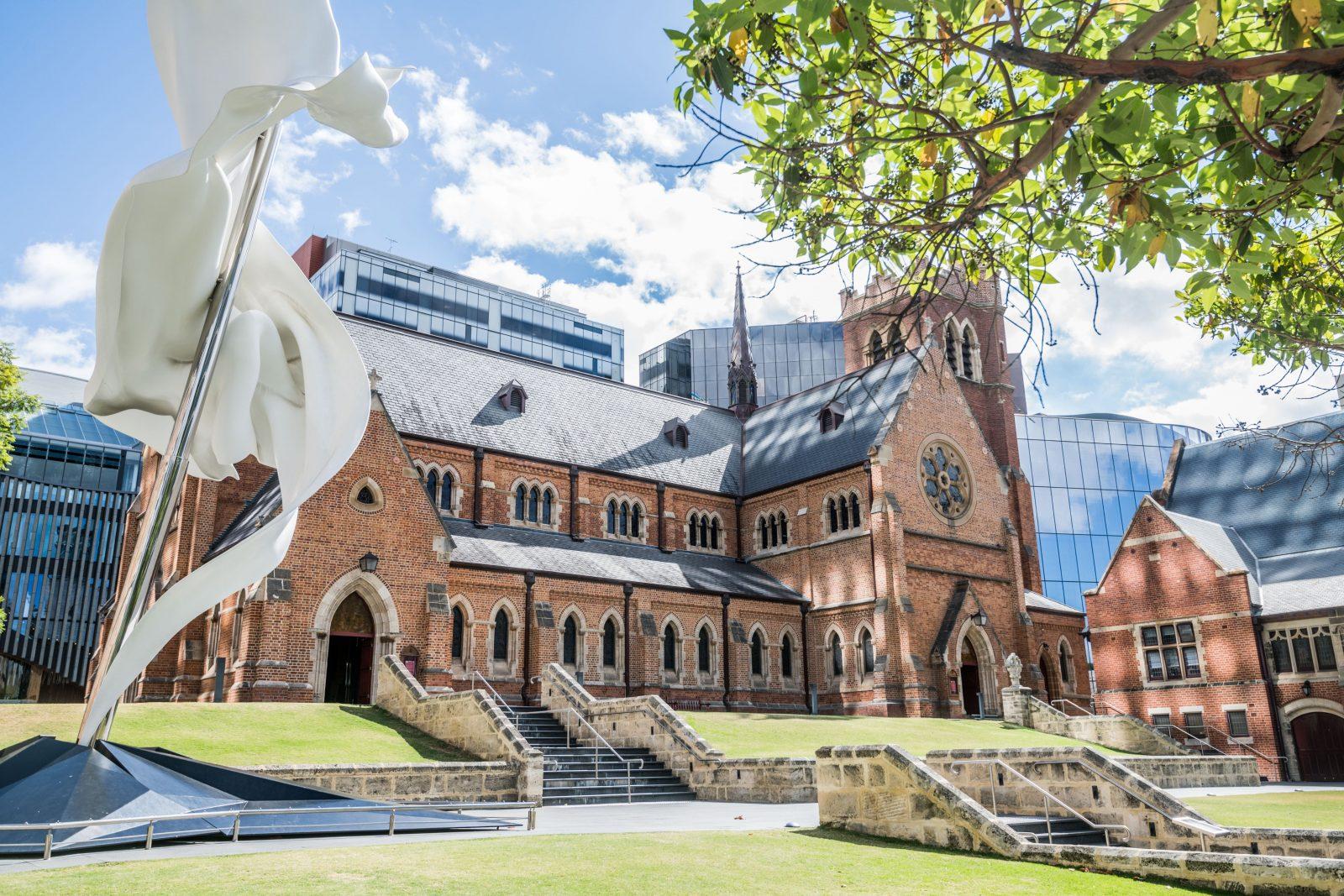 Cathedral Square, Perth, Western Australia