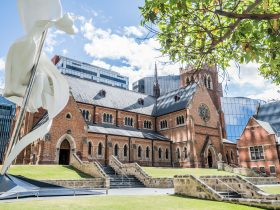 Cathedral Square, Perth, Western Australia