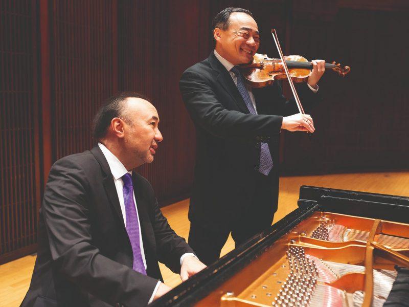 Cho-Liang Lin and Jon Kimura Parker, Perth, Western Australia