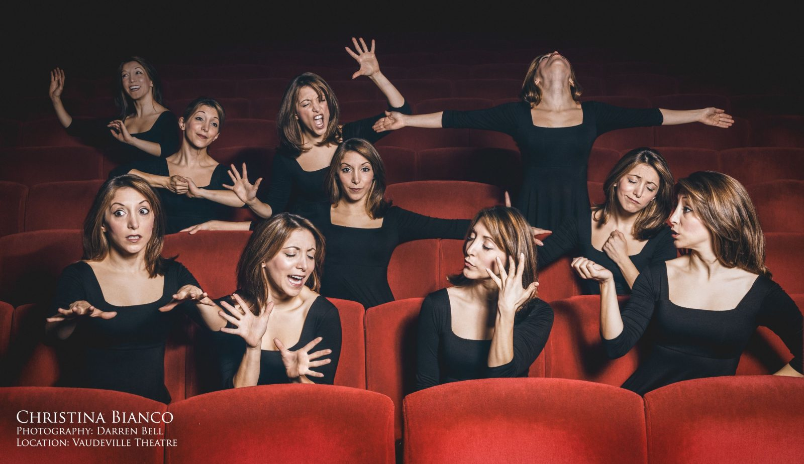 Christina Bianco: Me, Myself and Everyone Else – Fringe World, Northbridge, Western Australia