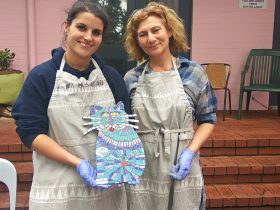 Christmas Gift Making Mosaic Class, East Victoria Park, Western Australia