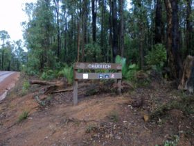 Chuditch Campground at Lane Poole Reserve, Western Australia