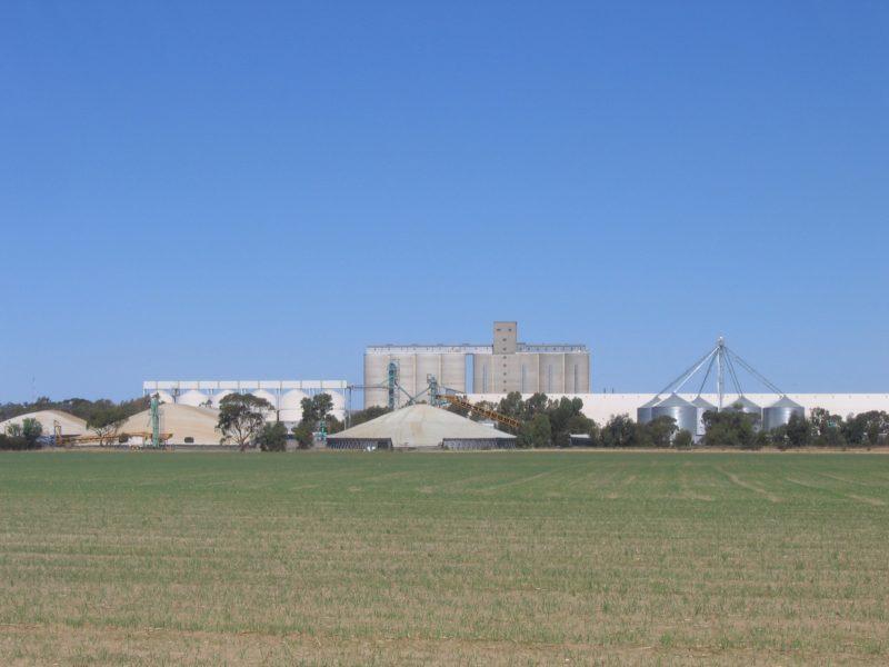 CBH Wheat Storage and Transfer Depot, Merredin, Western Australia