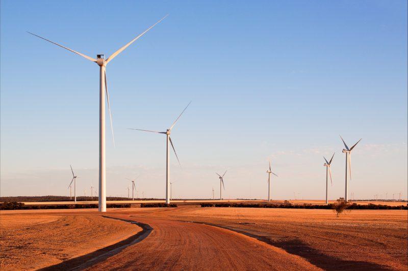 Collgar Wind Farm Merredin, Norpa, Western Australia