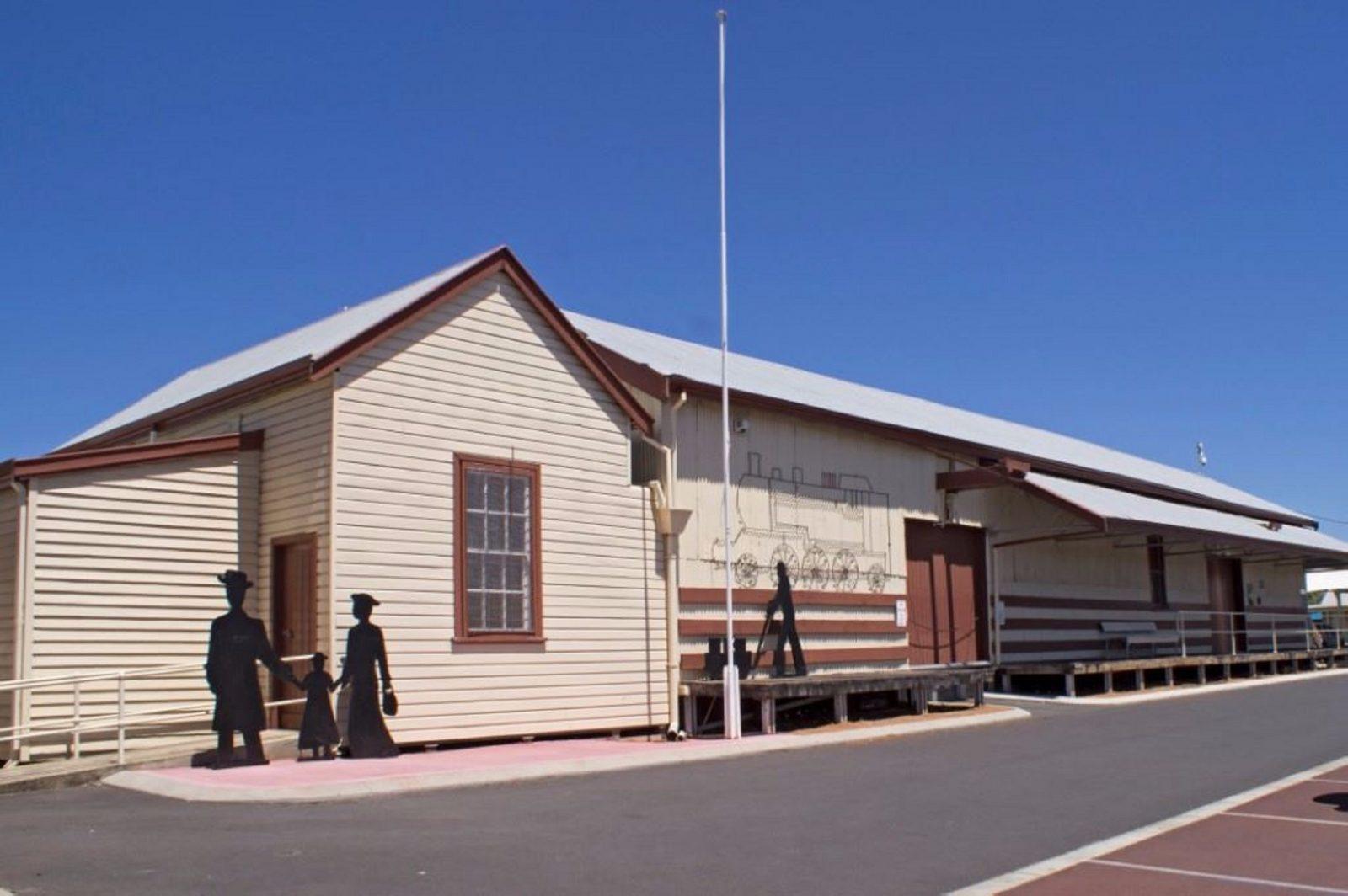 Collie Historical Rail Precinct, Collie, Western Australia