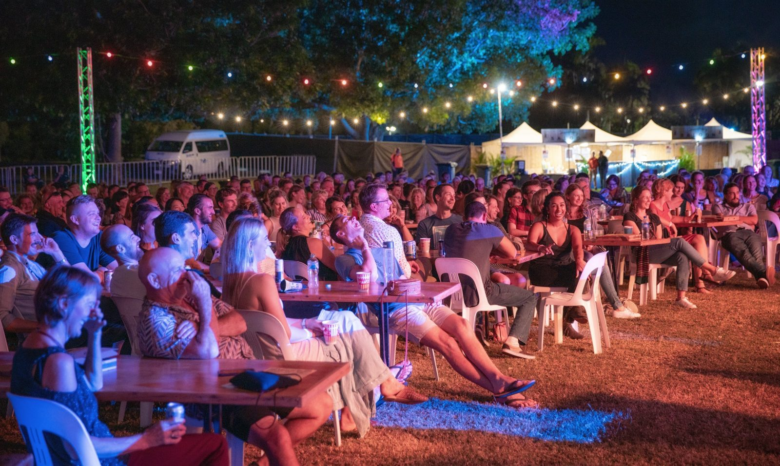 Comedy in the Park - Ord Valley Muster Kununurra, Western Australia