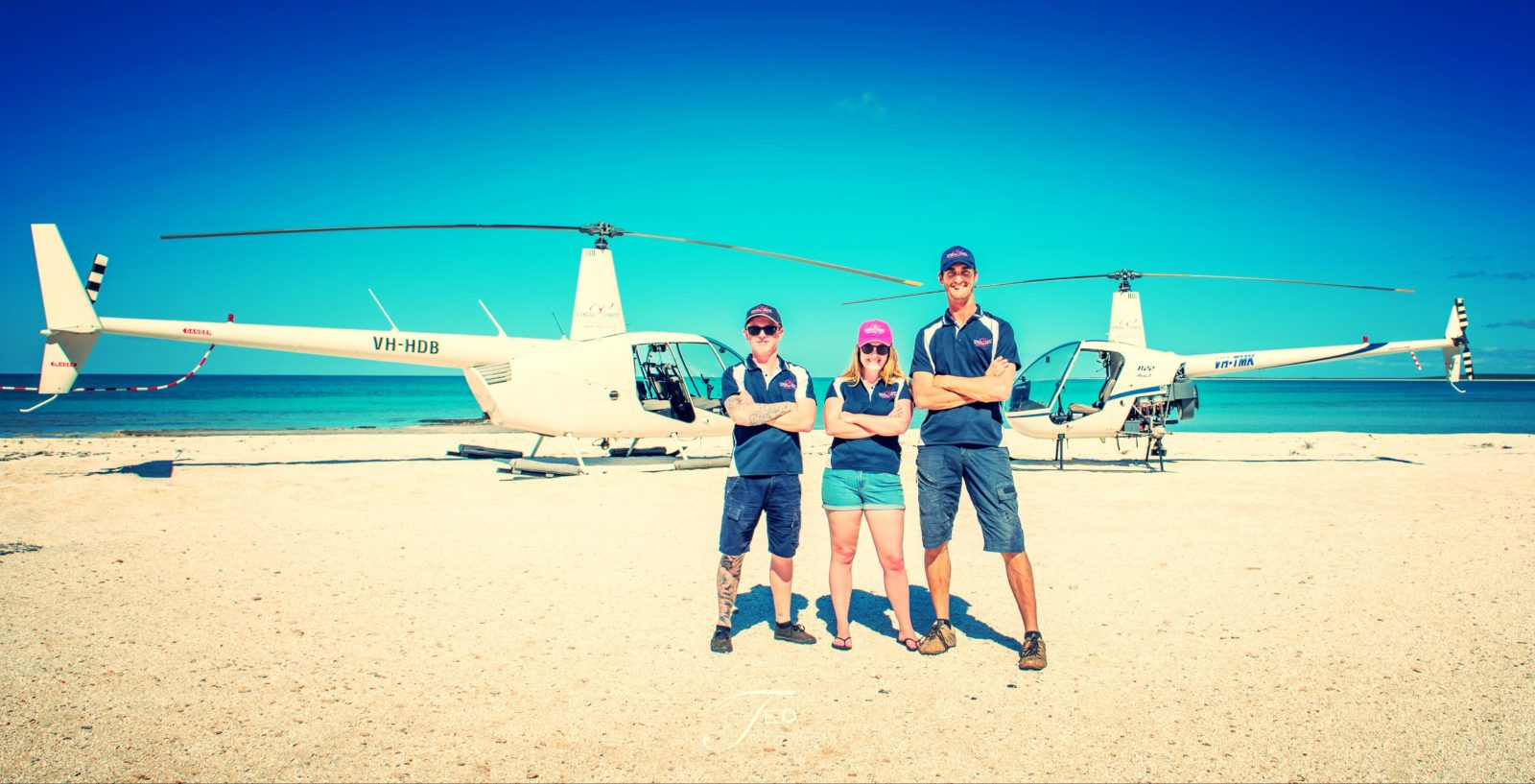 Coral Coast Helicopter Services, Morgantown, Western Australia