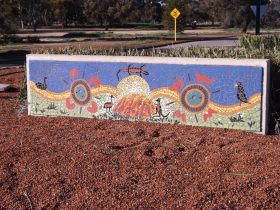 Council Office Mosaic, Merredin, Western Australia