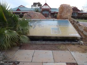 Council Office Mosaic, Merredin, Western Australia