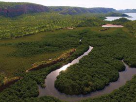 Kimberley coastline near the Horizontal Falls