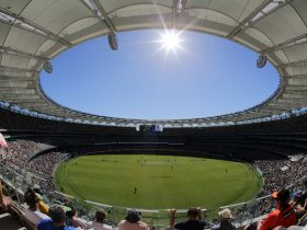 Domain Day-Night Test: Australia vs New Zealand, Burswood, Western Australia