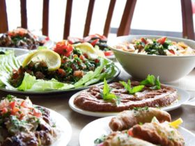 Elie's Tent Lebanese Restaurant, Victoria Park, Western Australia