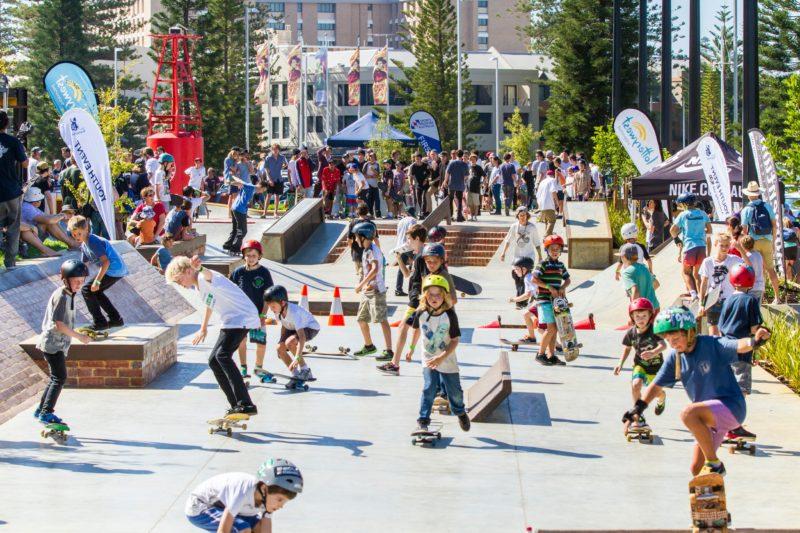 Esplanade Youth Plaza, Fremantle, Western Australia