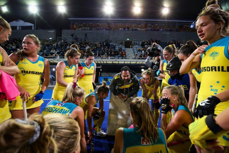 FIH Pro League: Kookaburras versus Great Britain, Bentley, Western Australia