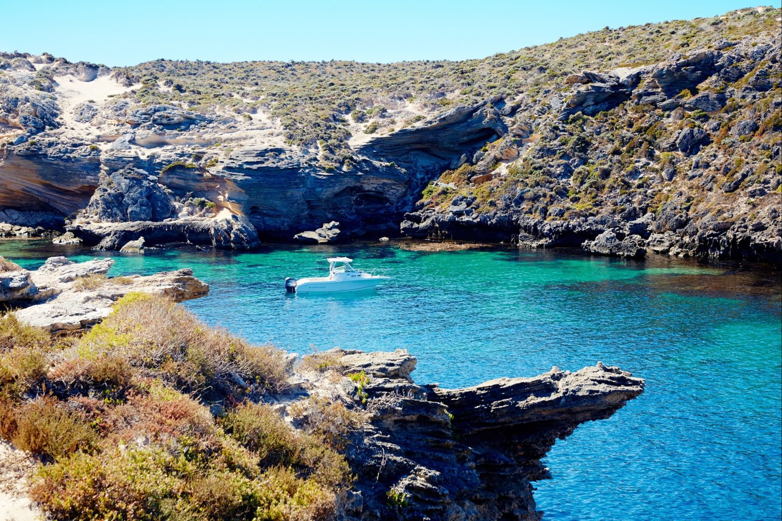 Fish Hook Bay , Rottnest Island, Western Australia