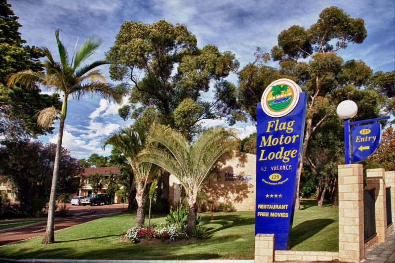 Flag Motor Lodge, Perth, Western Australia