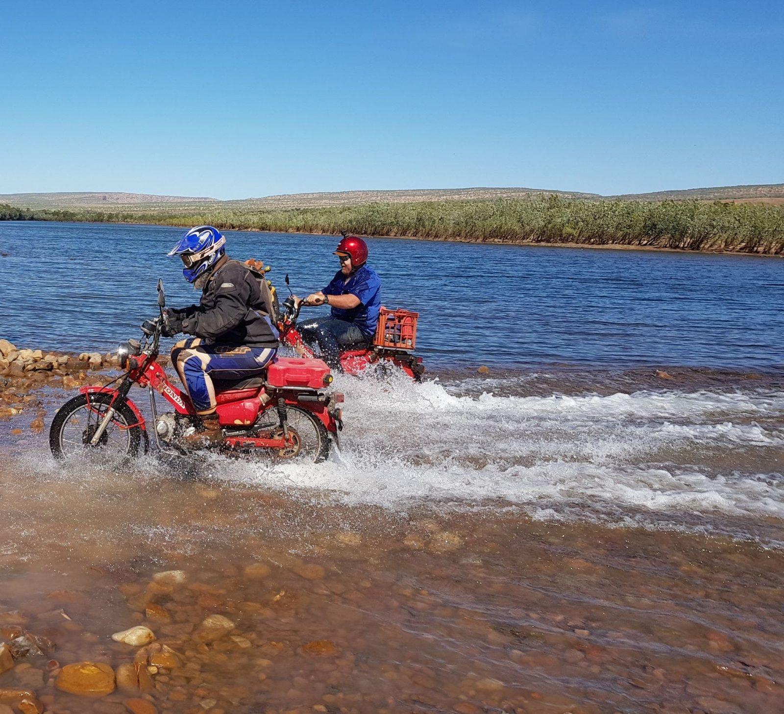 Gibb River Postie Bike Adventure, Gibb, Western Australia