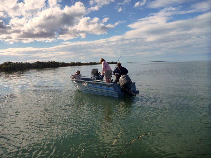 Fishing at Giralia Bay
