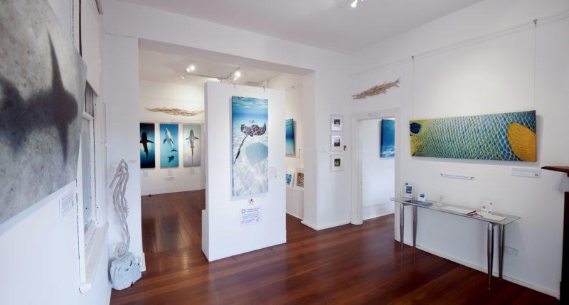 Glen Cowans' Studio at the Roundhouse, Fremantle, Western Australia