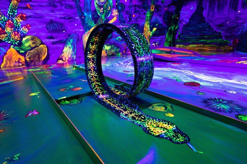 Glowing Rooms 3D Mini Golf, Hamilton Hill, Western Australia