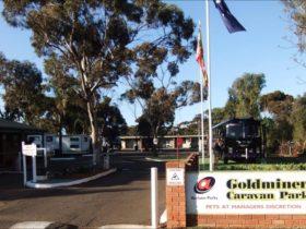 Goldminer Caravan Park, Kalgoorlie, Western Australia
