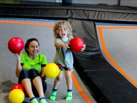 Gravity Etc trampoline centre, a place to bounce, flip, meet new friends and have fun!