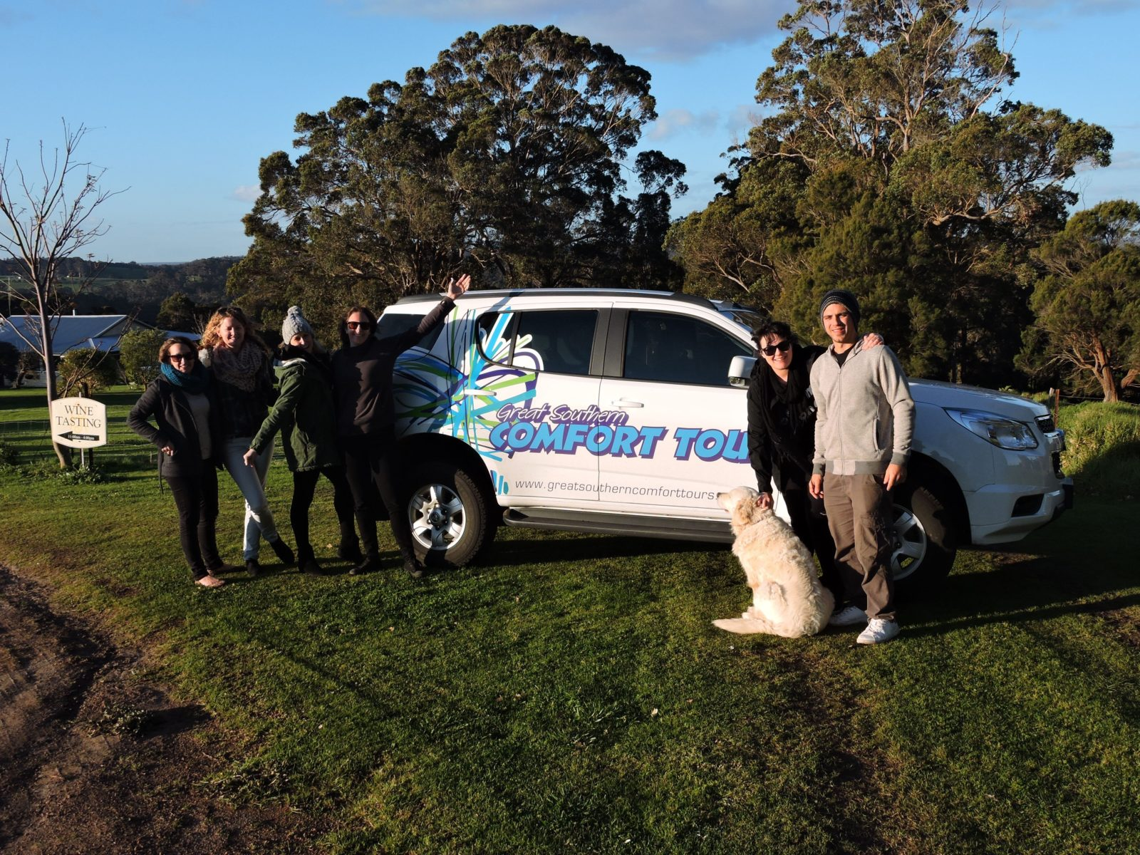 Great Southern Comfort Tours, Albany, Western Australia