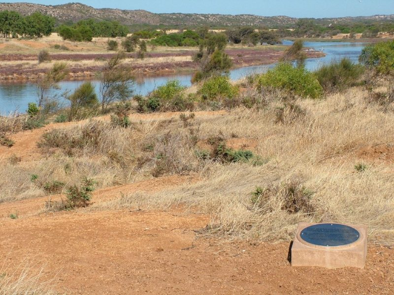 Greenough River Mouth and Devlin Pool, Greenough, Western Australia