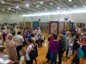 Hanging of the Quilts, Port Denison, Western Australia