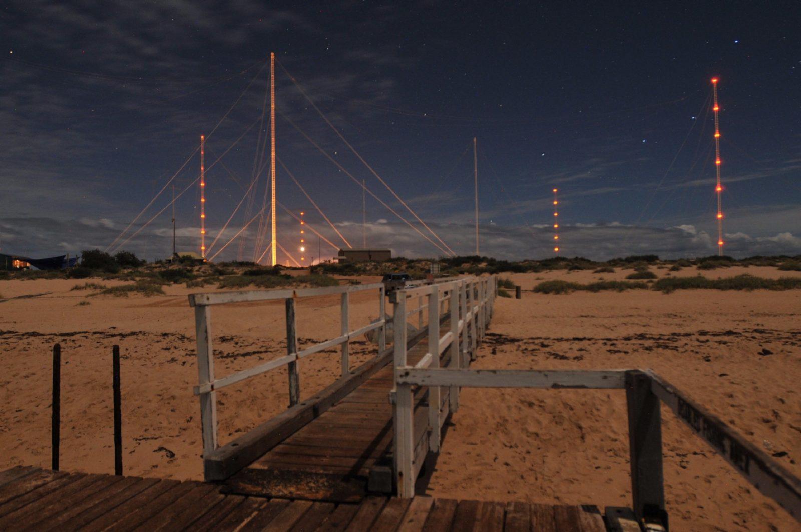 Harold E Holt Naval Communication Station, Exmouth, Western Australia