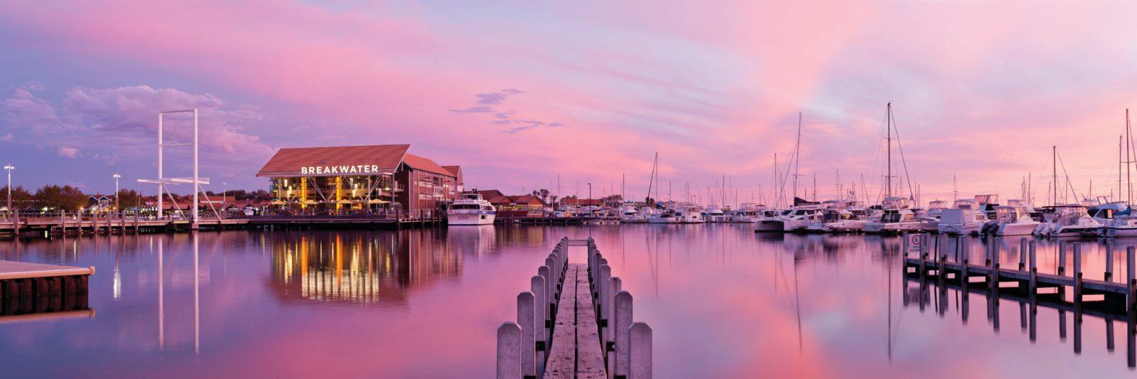 Hillarys Boat Harbour, Sorrento Quay, Western Australia