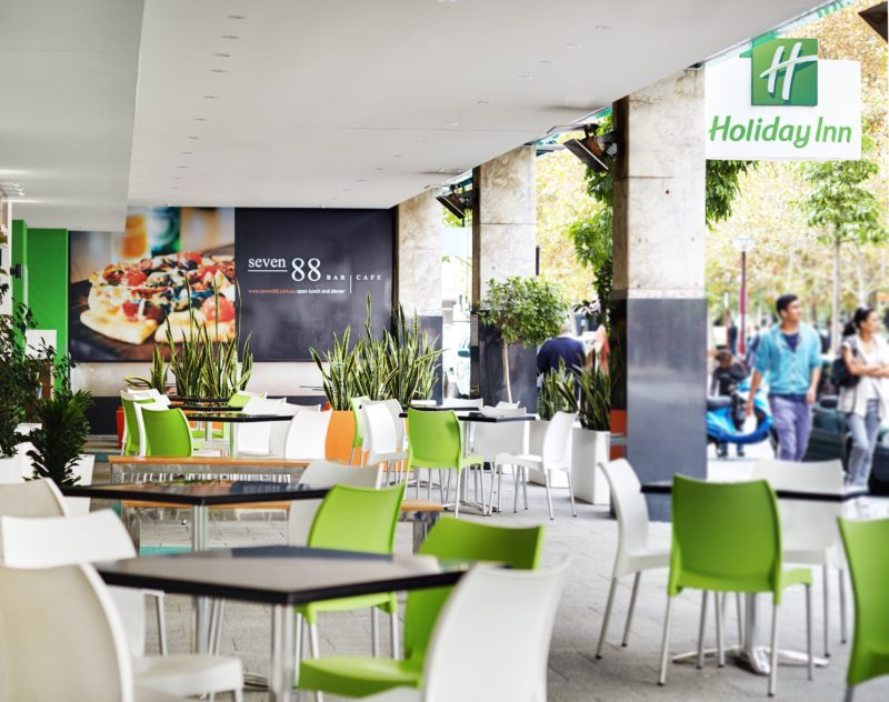 Seven88 Alfresco Area at Holiday Inn Perth City Centre