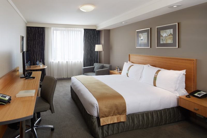 King Executive Guest Room at Holiday Inn Perth City Centre