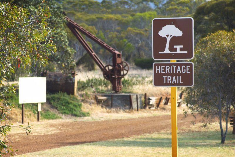 Hopetoun Ravensthorpe Railway Heritage Walk Trail, Western Australia