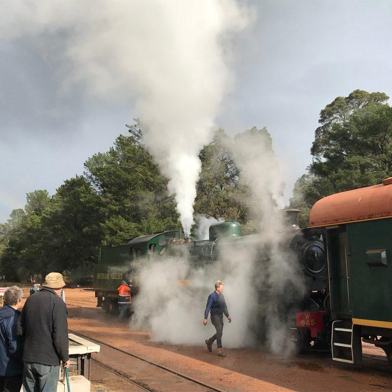 Hotham Valley Railway, Dwellingup, Western Australia