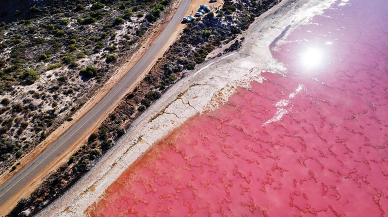 Hutt Lagoon, Western Australia