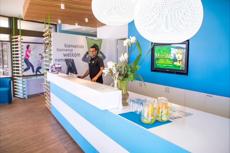 Lobby area at ibis Styles Port Hedland